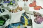 Тюль бабочка